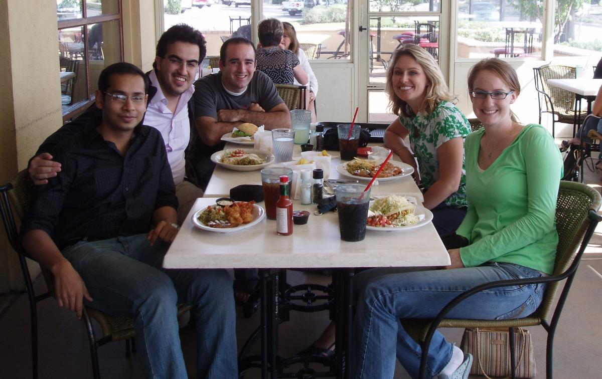 Group lunch (2008)